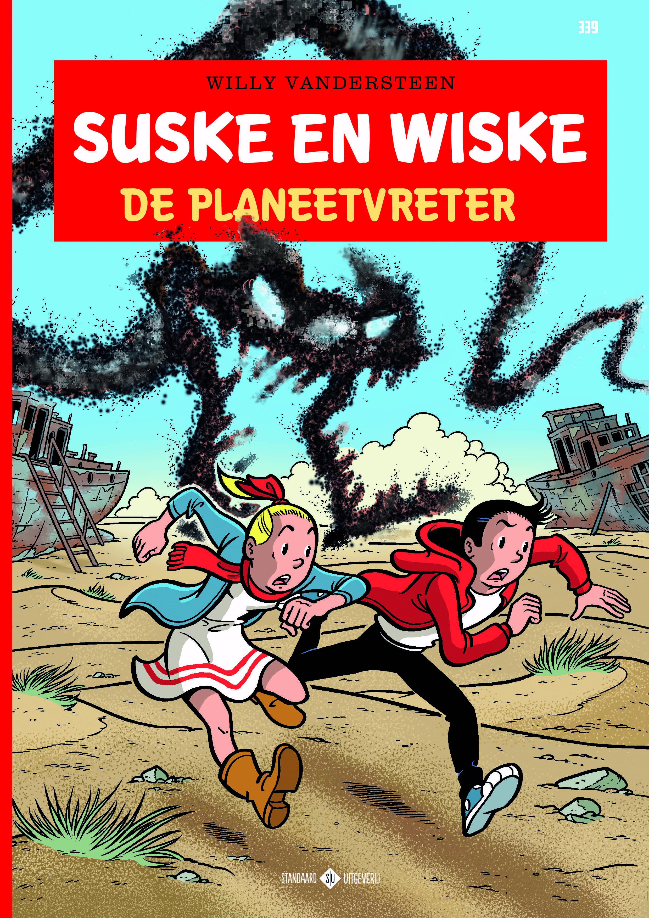 Afbeeldingsresultaat voor suske en wiske planeetvreter